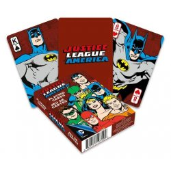 DC Comics Playing Cards Retro Justice League