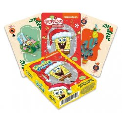 SpongeBob Playing Cards Holidays