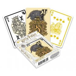 Harry Potter Playing Cards Hufflepuff