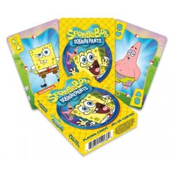 SpongeBob Playing Cards Cartoon