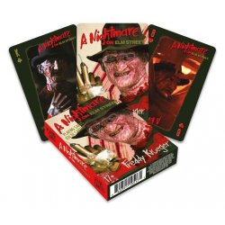 Nightmare on Elm Street Playing Cards Freddy