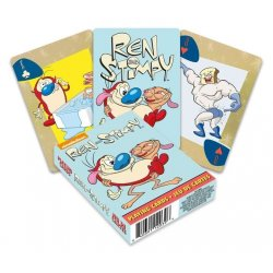 Ren & Stimpy Playing Cards Cartoon