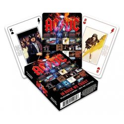 AC/DC Playing Cards In Rock We Trust