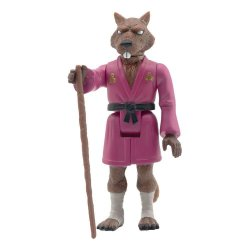 Teenage Mutant Ninja Turtles ReAction Action Figure Splinter 10 cm