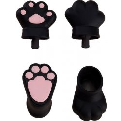 Original Character Parts for Nendoroid Doll Figures Animal Hand Parts Set (Black)