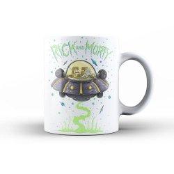 Rick & Morty Mug Space Ship