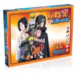 Naruto Shippuden Jigsaw Puzzle Characters