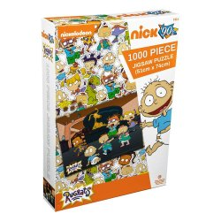 Rugrats Jigsaw Puzzle Lounge Room (1000 pieces)