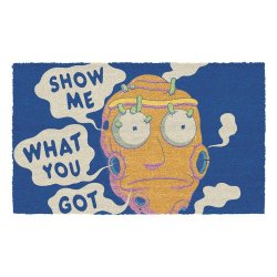 Rick & Morty Doormat Show Me What You Got 40 x 60 cm
