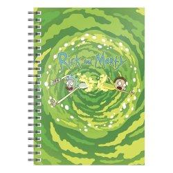 Rick & Morty Notebook Logo Portal