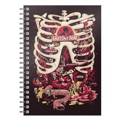 Rick & Morty Notebook Anatomy Park