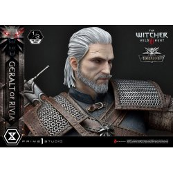 Witcher 3 Wild Hunt Statue 1/3 Geralt von Riva Deluxe Version 88 cm
