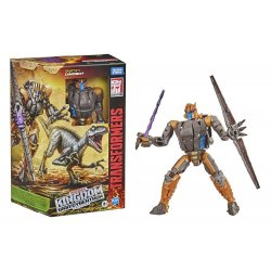 Transformers Generations War for Cybertron: Kingdom - Voyager Class - Dinobot