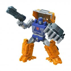 Transformers Generations War for Cybertron: Kingdom - Deluxe Class - Huffer