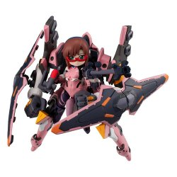 Evangelion Desktop Army Figure Makinami Mari Illustrious & Evangelion No. 8a 15 cm