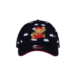 Super Mario Curved Bill Cap Cloud Mario