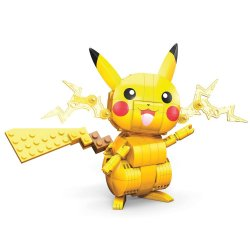 Pokémon Mega Construx Wonder Builders Construction Set Pikachu 10 cm