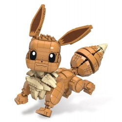 Pokémon Mega Construx Wonder Builders Construction Set Jumbo Eevee 29 cm