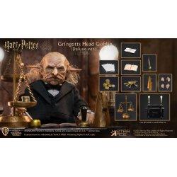 Harry Potter My Favourite Movie Action Figure 1/6 Gringotts Head Goblin Deluxe Ver. 20 cm
