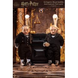 Harry Potter My Favourite Movie Action Figures 1/6 Gringotts Head Goblin & Griphook 20 cm