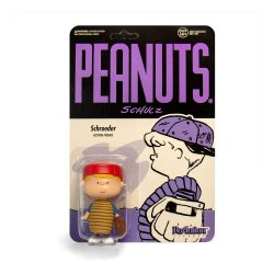 Peanuts ReAction Action Figure Baseball Schroeder 10 cm