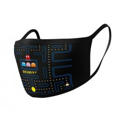 Pac-Man Face Masks 2-Pack Maze Ready