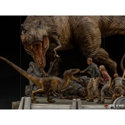 Jurassic Park Demi Art Scale Statue 1/20 The Final Scene 48 cm