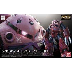 Gundam - MSM-07S Z'Gok (Char Aznable's Use) RG 1/144