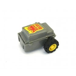 Moto-bot – Gray Dyno Drive Pull Back Motor Yellow Rim