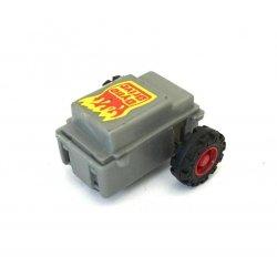 Moto-bot – Gray Dyno Drive Pull Back Motor Red Rim