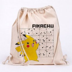 Pokémon Draw String Bag Pikachu
