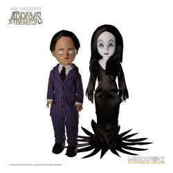 The Addams Family Living Dead Dolls Gomez & Morticia 25 cm