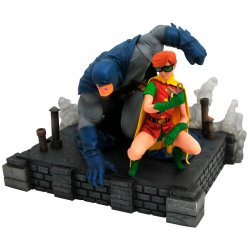 DC Comics Batman The Dark Knight Returns & Robin 20cm statue