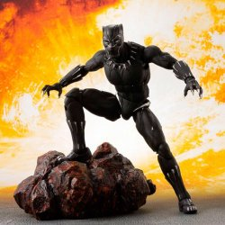Marvel Avengers Black Panther Effect Infinity War Rock 16cm articulated figure