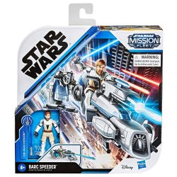 Mission Fleet Star Wars Obi-Wan Kenobi + Barc Speeder figure in