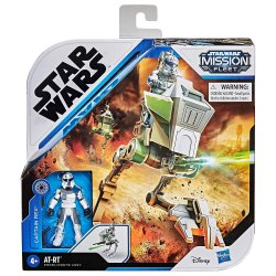 Star Wars Captain Rex Fleet Mission + AT-RT in  figure