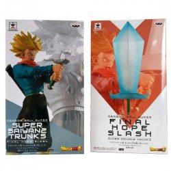 Dragon Ball Super Final Hope Super Saiyan 2 Trunks Slash & Blade of Hope pack 2 figures 24cm