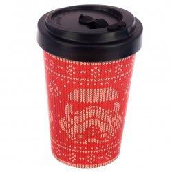 Original Stormtrooper Christmas travel mug bamboo