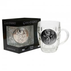 Game of Thrones Lannister glass jug