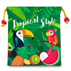 Tropical Toucan lunch bag Style
