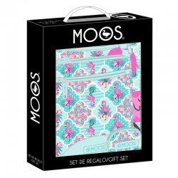 Turquoise Flamingo Moos gift set