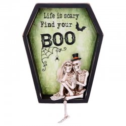 Find Your Life is Scary Boo wall plaque