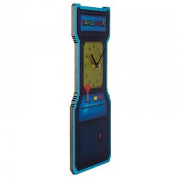 Game Arcade Game Over Wall Clock
