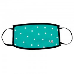 Green Stars child reusable mask