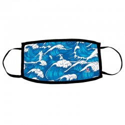 Waves child reusable mask