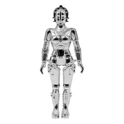 Metropolis ReAction Action Figure Maria (Vac Metal Silver) 10 cm