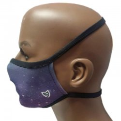Blue reusable mask L