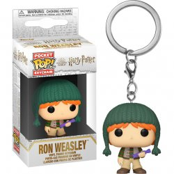 Pocket POP keychain Harry Potter Ron Holiday