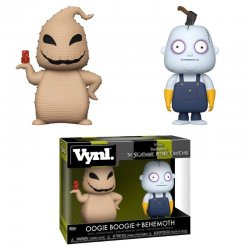 Vynl figures Disney Nightmare Before Christmas Oogie Boogie and Behemoth