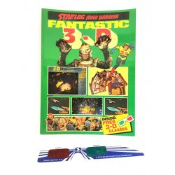 Starlog Photo Guidebook – Fantastic 3-D (with 3D Glasses / ENG)
